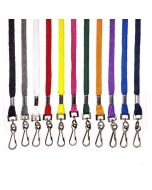 Plain Lanyards - Metal Clip - 10mm Wide (Packs of 100)
