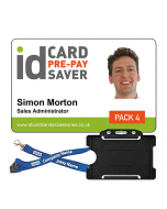 School ID Cards -  Supersaver Prepayment Package 4, Cards, Holders & Bespoke Lanyards