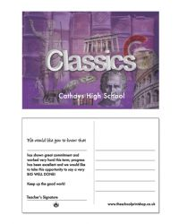Classics Praise Postcards - Pack of 150