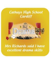 Drama School Praise Stickers