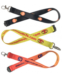 Dye Sublimation School Lanyards Printed Full Colour