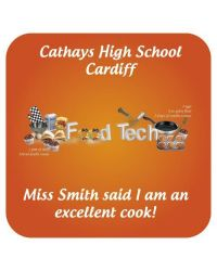 Food Tech. School Praise Stickers
