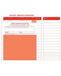 Standard School Absence Kit with Economy Board (200 slips per pack)