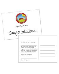 Generic School Praise Postcards - Pack of 150