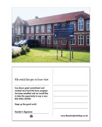 School Photo Praise Postcards