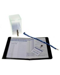 Personalised Visitor Book Single Colour printing – Starter Kit