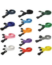 Plain Lanyards Plastic J Clip 10mm Wide - Pack of 100