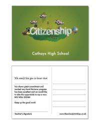 Citizenship Praise Postcards