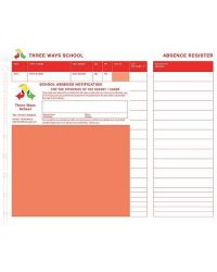 Personalised School Absence Slips - Refills