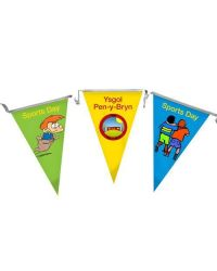School Bunting - Synthetic Paper - 10 metre lengths