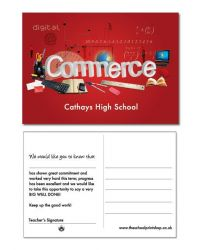 Commerce Praise Postcards - Pack of 150