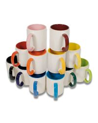 Two Tone Dye Sublimation Mugs