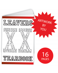 Leavers' Year Books - 16 pages