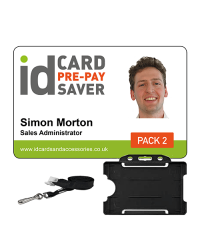 School ID Cards - Supersaver Prepayment Package 2, Cards, Holders & Plain Lanyards