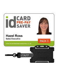 School ID Cards - Supersaver Prepayment Package 3, Cards, Holders & STAFF Lanyards