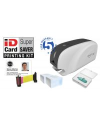 SuperSaver School ID Plastic Card Printing Package