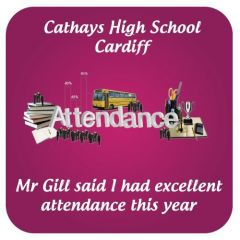 Attendance School Praise Stickers