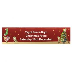 Christmas Fair School Banner - Design 6