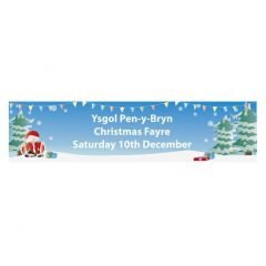 Christmas Fair School Banner - Design 2