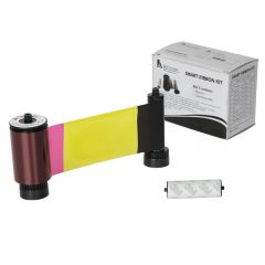 Smart 30 and 50 YMCKO Colour Ribbon with Cleaning Roller - 250 print