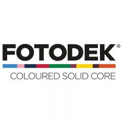 Fotodek Coloured Plastic PVC Cards With Coloured Core - Pack of 100