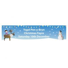 Christmas Fair School Banner - Design 3