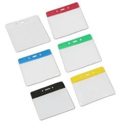 Flexible ID Card Holders - Landscape - Pack of 100