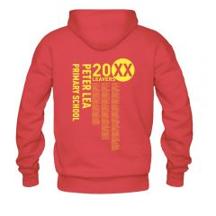 Primary School Leavers Hoodies - Single Sided Print
