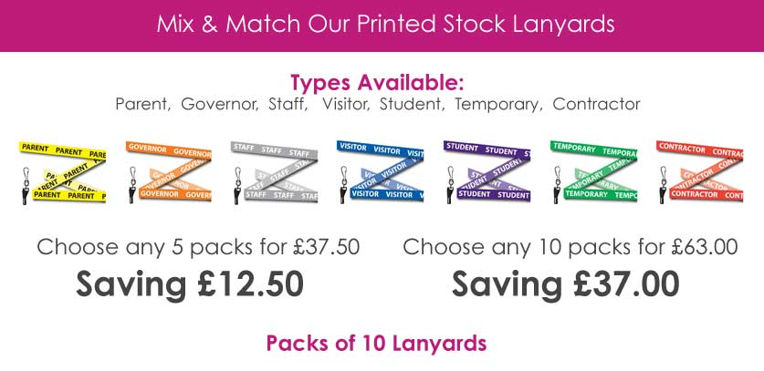 Mix & Match School Lanyards
