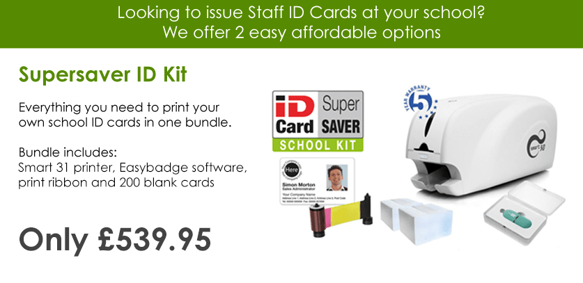 School ID Card Printer Kit