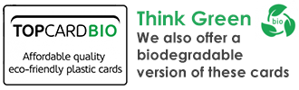 TOPCARD Biodegradable Plastic Cards