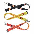 Screen Printed Polyester Lanyards