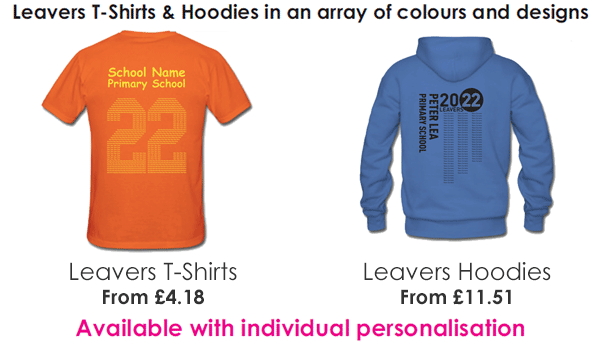 School Leavers Hoodies & T-Shirts